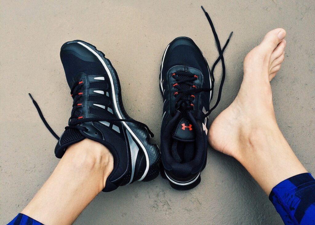 Schuhe Barfuß