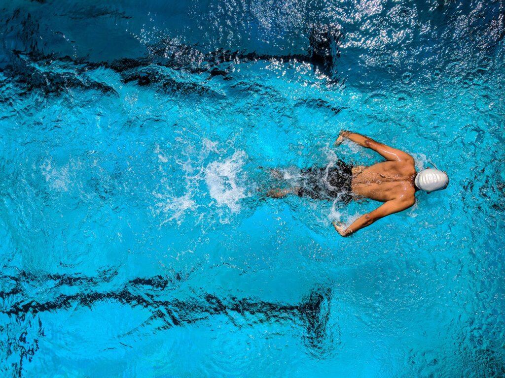 Schwimmen für den Rücken